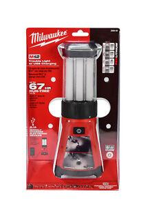 Milwaukee 2362-20 M12 12V Li-Ion Cordless 400-Lumen LED Lantern w/ USB Charging