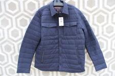 NWT Mens Woolrich John Rich & Bros Comfort Shirt Jacket XL Navy Blue $325