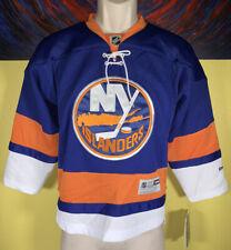 Youth Reebok NHL New York Islanders Stitched Hockey Jersey Size S/M Blue