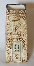 Troika vintage 1960's retro coffin vase designed by David Bridge
