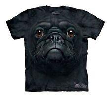The Mountain Black Pug Face Puggle Cute Puppy Dog Best Friend Shirt Child M