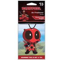 Marvel Deadpool Car Accessories - Deadpool Air Freshener Wiggler (1 Piece)