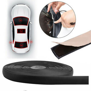 Black Windshield Weatherstrip Rubber Seal Strip Fits Toyota Corolla Yaris Camry