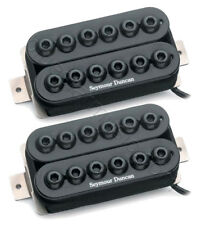 Seymour Duncan SH-8 Invader High Output Humbucker Neck/Bridge Pickup Set, Black
