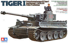 Tamiya 35216 WWII German Tiger I Tank Early Production 1/35 Scale Model Kit