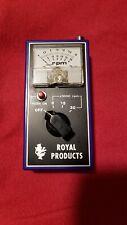 Vintage Royal Analog Tachometer