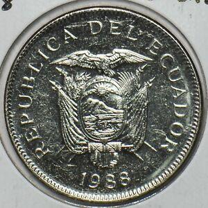 Ecuador 1988 20 Sucres 151912 combine shipping