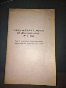 ARMÉNIE. LIBÉRATION DE L'ARMÉNIE TURQUE. 1923.
