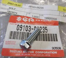 Genuine Suzuki RM85 RM125 RM250 Flanged Screw 6x20mm 09103-06235