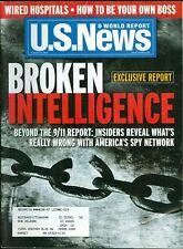 2004 U.S. News & World Report Magazine: Broken Intelligence Beyond 9/11 Report