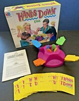 Vintage 1987 Hands Down Board Game by Milton Bradley - Complete