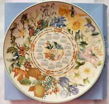 Wedgwood Calendar Plate 2003 Boxed - Daily Mail Commission