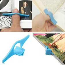 Plastic MultifunctionThumb Book Page Holder Marker Finger Ring Reading Bookmark