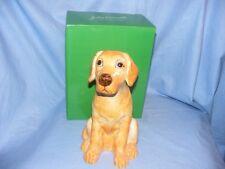 John Beswick Labrador Dog Yellow Money Box Bank NEW JBMBA7
