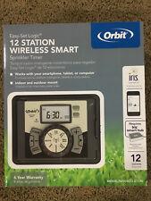 NEW! Orbit 27396 12-Station Indoor/Outdoor Irrigation Timer with Iris Technology