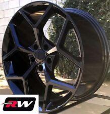 "(2) 20 x9"" (2) 20x 10"" inch Chevy Camaro Z28 OE Replica Wheels Gloss Black Rims"