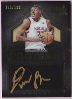 DIAMOND STONE RC 2016 BLACK GOLD AUTOGRAPH #156/199 AUTO
