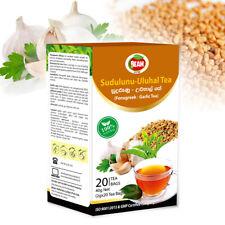 Fenugreek – Garlic Tea (2g*20bags) An Excellent Herbal Drink From Sri Lanka,