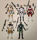 Star Wars Black Series Clone Trooper Lot of 5