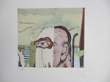 Karl Korab, Farbradierung, handsigniert, 1972