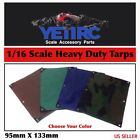1/16 Scale Accessories RC Heavy Duty Tarps