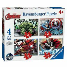 4 in 1 Puzzle Box | Marvel Avengers | Ravensburger | Kinder Puzzle