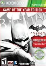 Xbox 360 Batman: Arkham City (Game of the Year Edition) VideoGames