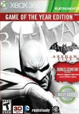 Xbox 360 : Batman: Arkham City (Game of the Year Edition) VideoGames