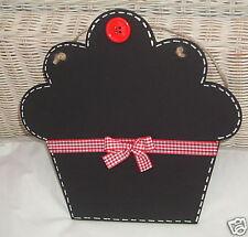 CUPCAKE CHALKBOARD Blackboard ~ Kitchen Bedroom Christmas ~ Cafe Tea Room Shop
