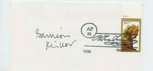 Autographié Enveloppe Garrison Keillor Américain Auteur,Storyteller,Humorist