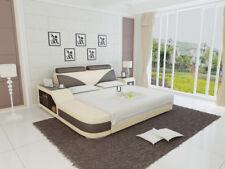 Wasserbett Hotel Doppel Bett Betten Komplett Lederbett Polsterbett Wasser LB8817