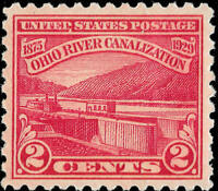 Scott  #681 Ohio River Canalization  MNH OG