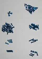 Tamiya TB03 Blue Aluminum Hex Head Screw Kit - 83pcs (NEW)