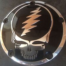 Grateful Dead SYF Twin Cam (5 hole) Derby Cover for Harley-Davidson