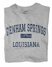 Denham Springs Louisiana LA T-Shirt EST