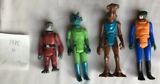 CANTINA CREW 1978 Vintage Star Wars Action Figures Greedo Snaggletooth Walrusman