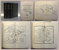 Andree Geographie des Welthandels 3 Bde 1910 Wirtschaftsgeografie Weltgeschichte