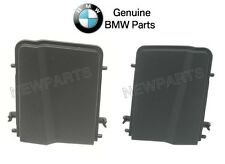 For BMW E46 Convertible Pair Set of Left & Right Black Top Cover Trims Genuine