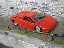 Maisto Lamborghini Diablo 1:18 Red paint has some damage #2