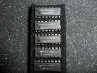 TMM41256CP DYNAMIC RAM 256K X 1 PAGE MODE 120NS 16 PIN DIP AMS (LOT OF 5)