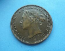 Jersey, 1/12th Shilling (Penny) 1877, in Good Condition.