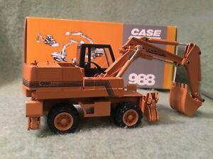 Case Poclain 988 Wheeled Excavator 1:50 #2899 MIB Conrad Germany