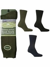 1 Mens MILITARY ACTION Wool Blend THERMAL Army Boot Socks UK 6-11