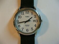 RETRO TIMEX MEN'S INDIGLO QUARTZ WATCH/GOOD COND/KEEPS TIME/WR-30/DATE/NEW BAND.