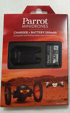 GENUINE CHARGER +BATTERY 550mAh FOR PARROT MINIDRONES  *NEW*