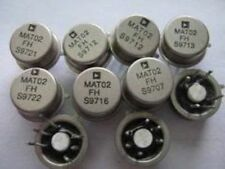 AD MAT02FH CAN-6 Low Noise Matched Dual Monolithic