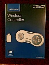 Insignia Wireless Controller for SNES Classic and NES Classic  **Brand New**
