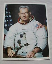 ORIGINAL COLOR NASA LITHO OF APOLLO-SOYUZ MISSION ASTRONAUT DEKE SLAYTON