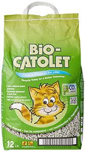 Bio-Catolet Light & Hygienic Recycled Paper Granules Cat Litter 12 Litre
