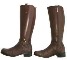Blondo Women Knee-High Tall Venise Riding Boot USA 8 M Brown Leather Waterproof